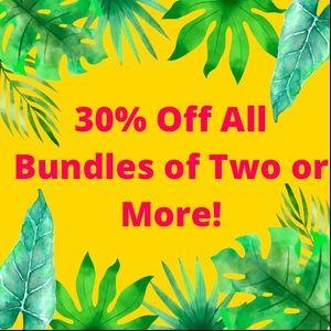 30% Off Bundles